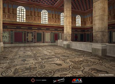 Ricostruzione ipotetica della basilica costantiniana