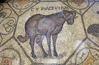 Dettaglio del mosaico della Basilica